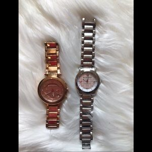 2 like new Michael Kors Watches